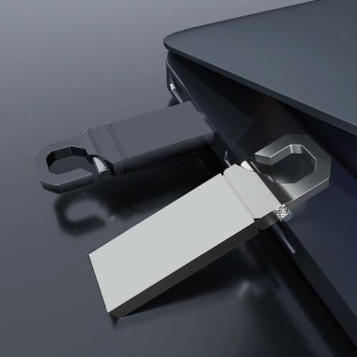 2TB Metal Key 3.0 Flash Thumb Storage U Disk New