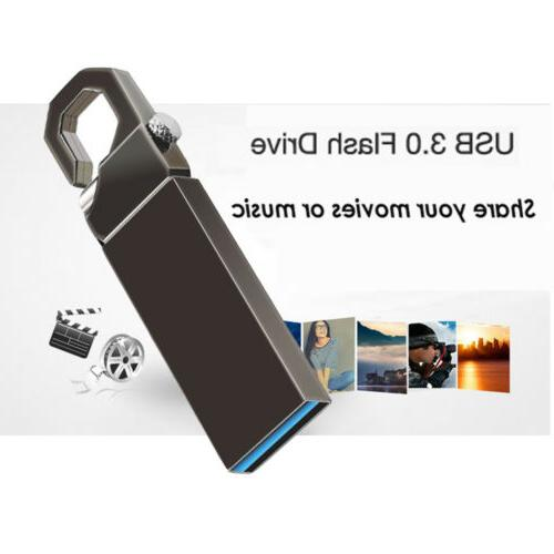 2TB Metal Key 3.0 Flash Thumb Stick Storage Pen U Disk