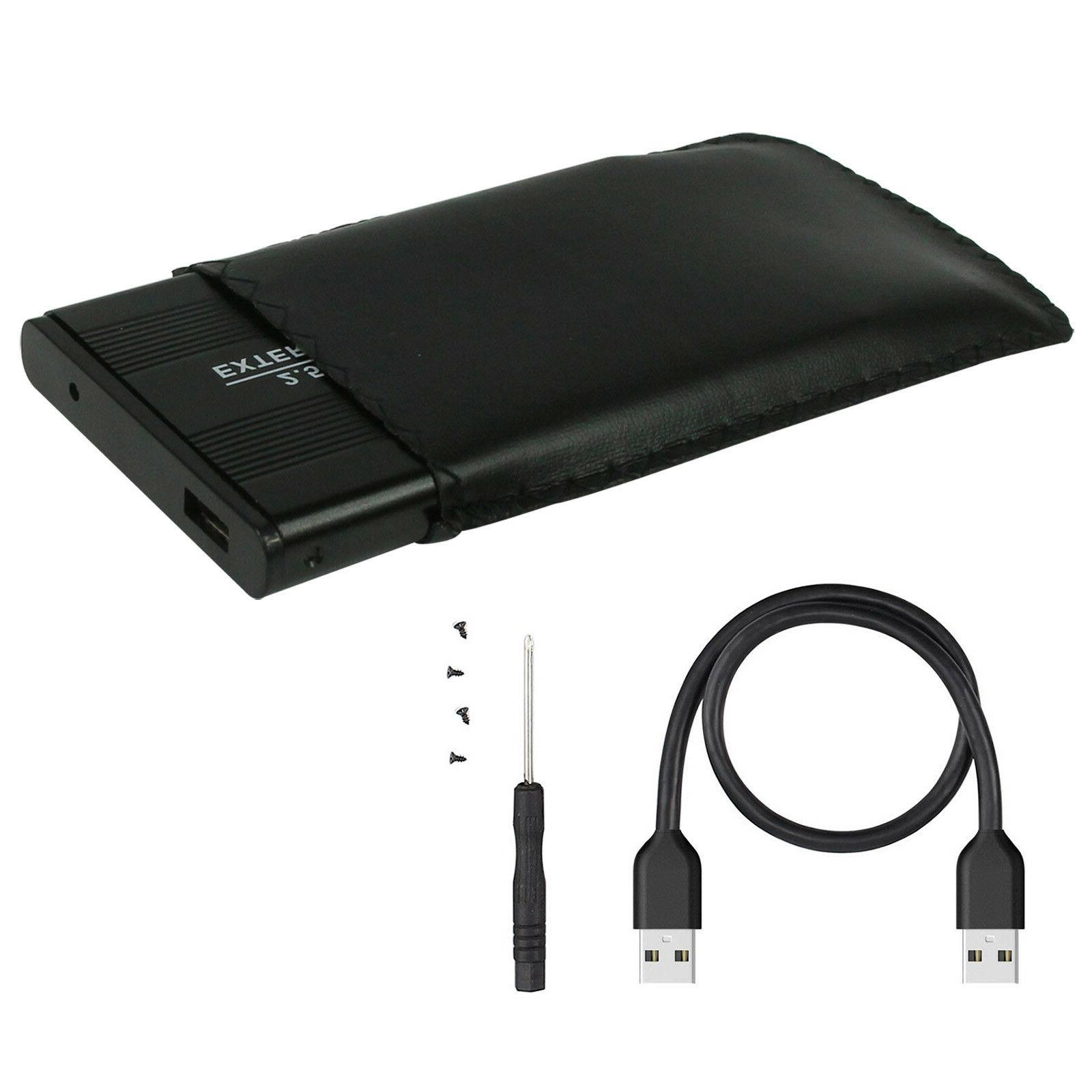 3.0 External USB 2.5 SATA HDD Hard Disk Drive Enclosure Cadd