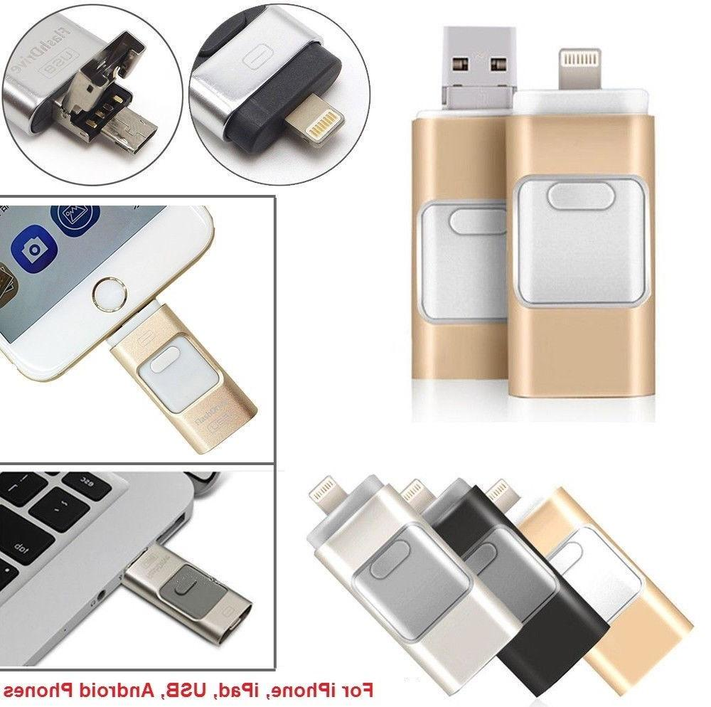 32/64/128/256GB Drive Disk Stick For 8 iPhone
