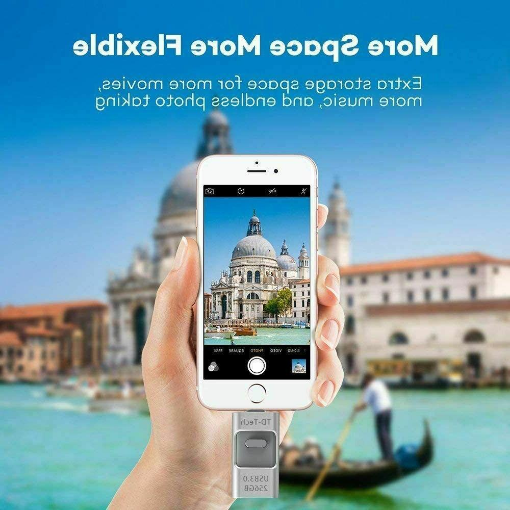 3.0 256GB Flash Photo iPhone Android PC