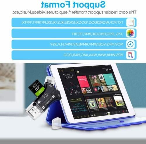 4in1 Drive Micro Reader Adapter For Android