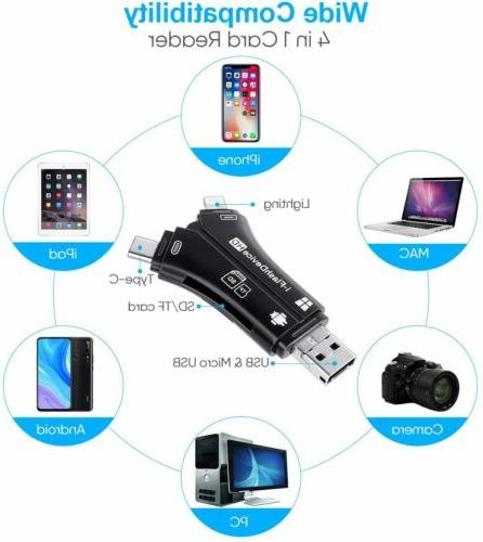 4in1 USB i-Flash Micro Card Reader Android