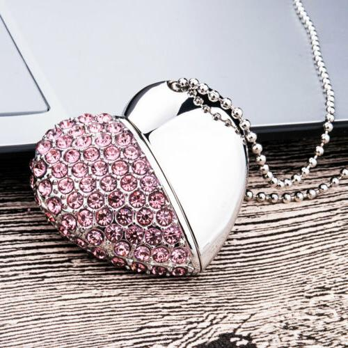 4Pcs Necklace Flash Memory For Gift