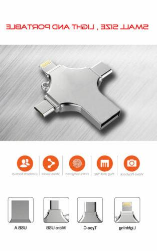 64-512GB USB Flash For iPhone