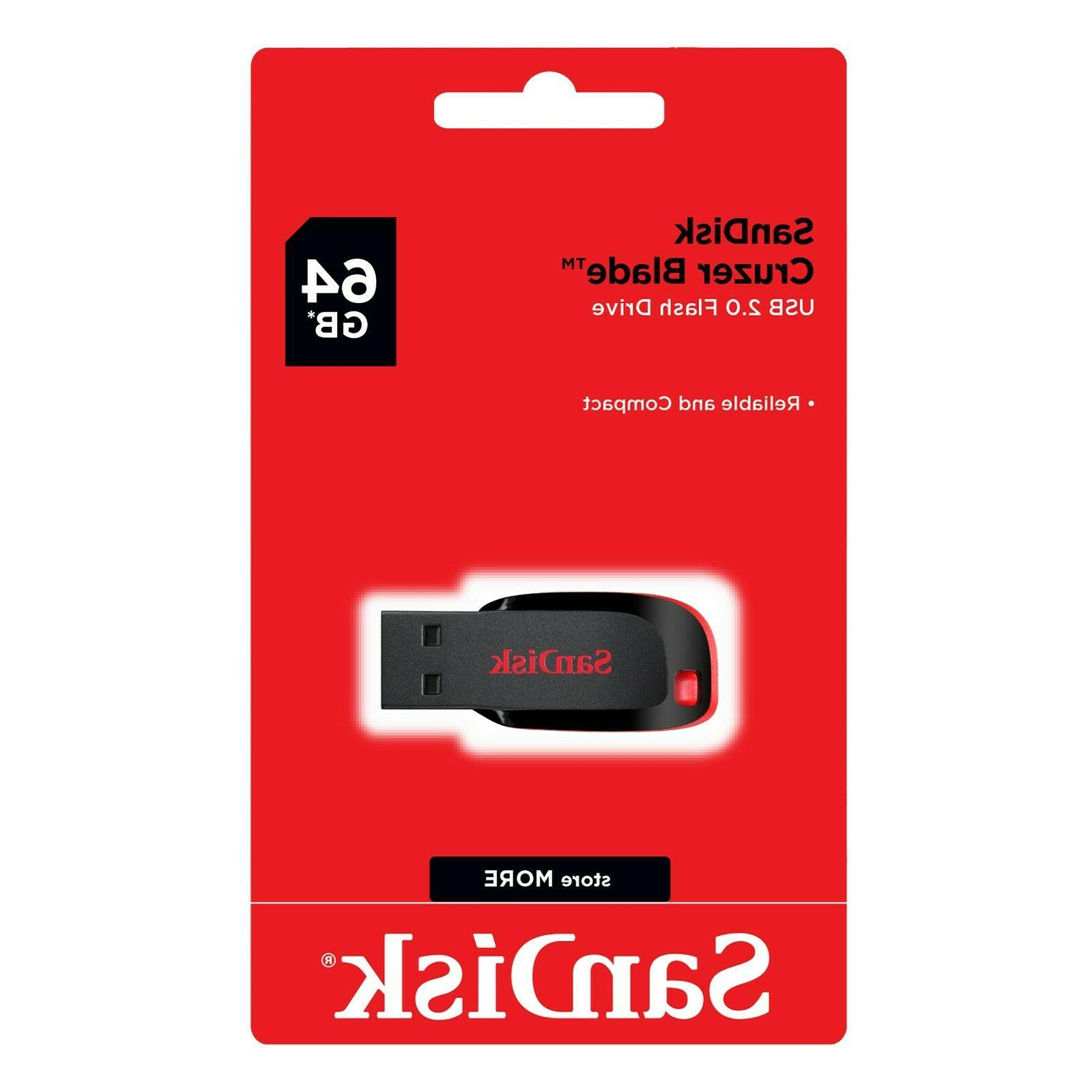 64gb cruzer blade usb 2 0 flash