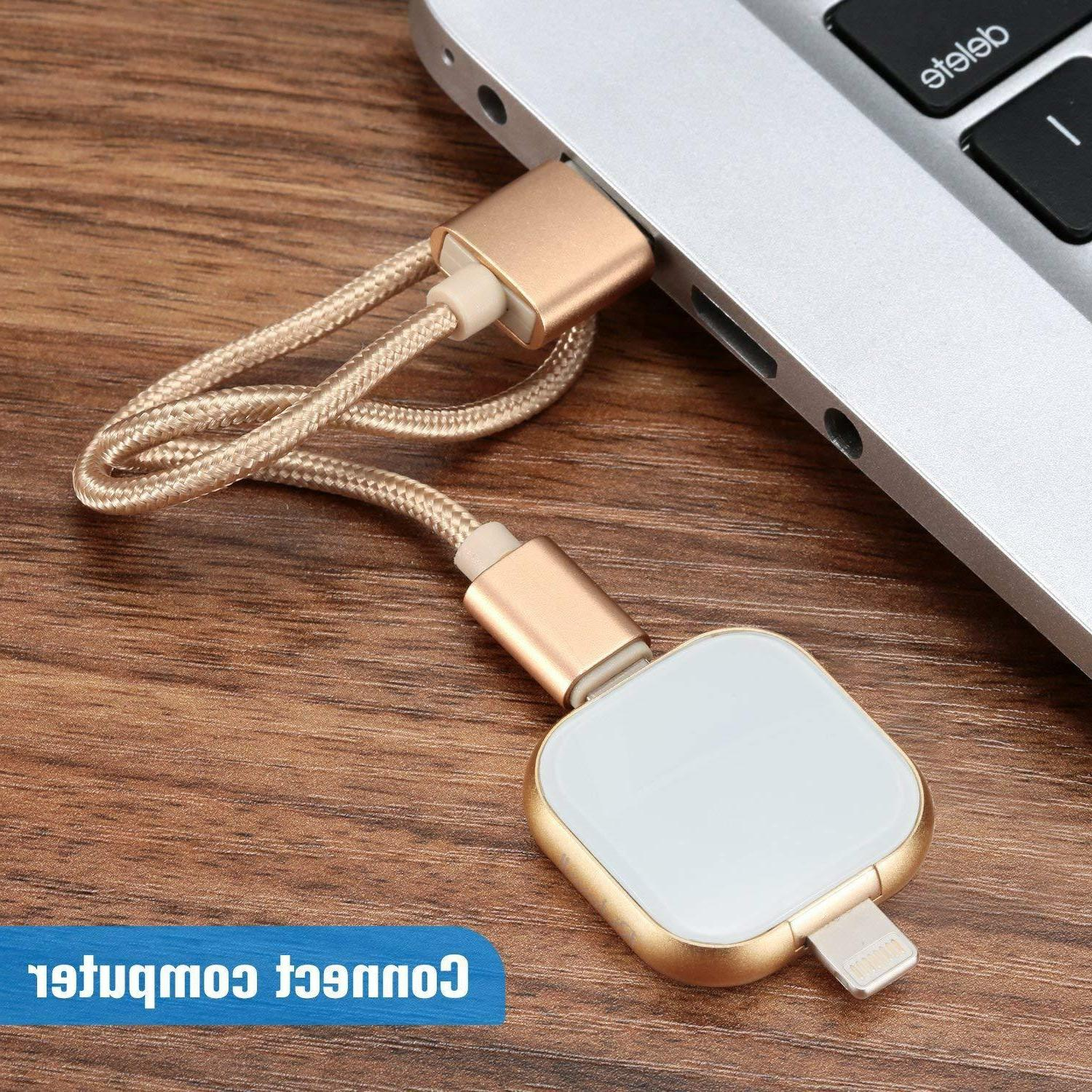 64GB 3.0 Flash Drive 3 for iPhone, Android, PC and Mac