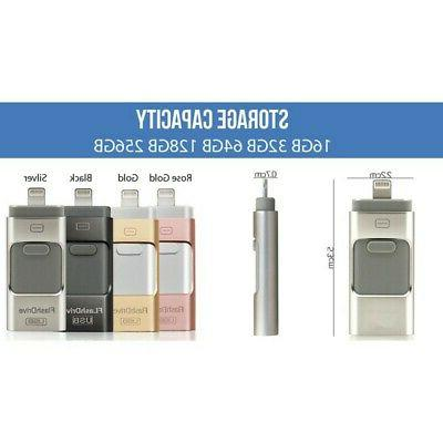 64GB Flash Drive Disk 3 for Android IOS iPhone PC
