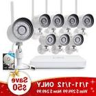 Funlux 1080p 8CH NVR 1.0 Megapixel HD Wireless Home Security