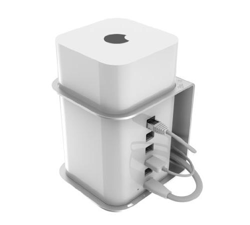 AirBase - Wall/Ceiling Mount for Apple AirPort Extreme & Tim