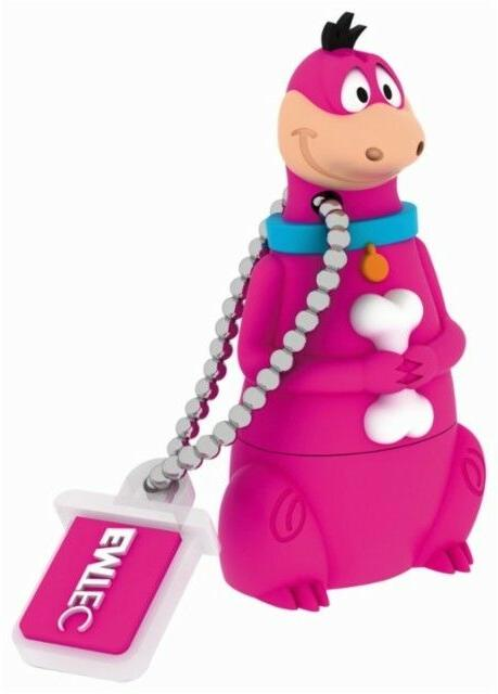 Emtec - The Flintstones 8gb Usb 2.0 Flash Drive - Purple