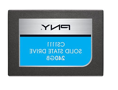 Pny - Cs1100 240gb Internal Sata Iii Solid State Drive For L