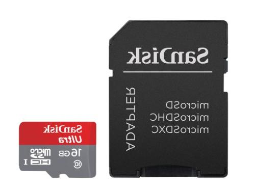 SanDisk 16GB Class UHS Card Speed To SDSDQUA-016G-U46A