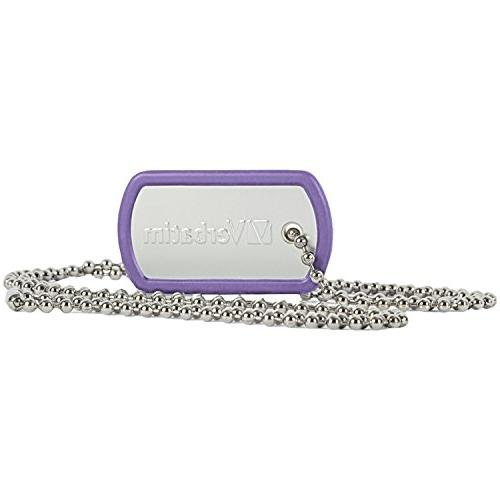 Verbatim 16GB Dog Tag USB Flash Drive, Violet 98672