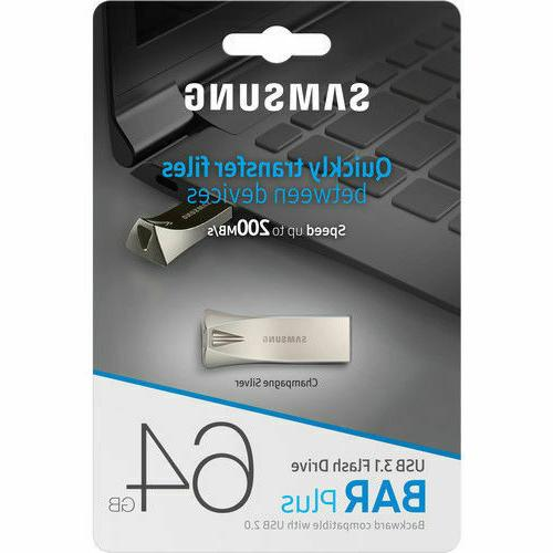 bar plus 64gb usb 3 1 200mb