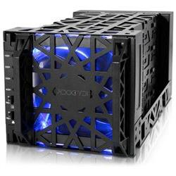 Icy Dock Black Vortex MB174U3S-4SB Drive Enclosure External