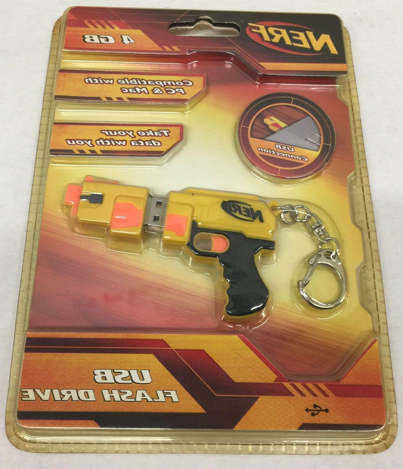 Brand New Nerf USB Drive compatible Pc