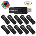 10PCS/Lot Rotating Memory Stick 1GB USB 2.0 Flash Drive Fold