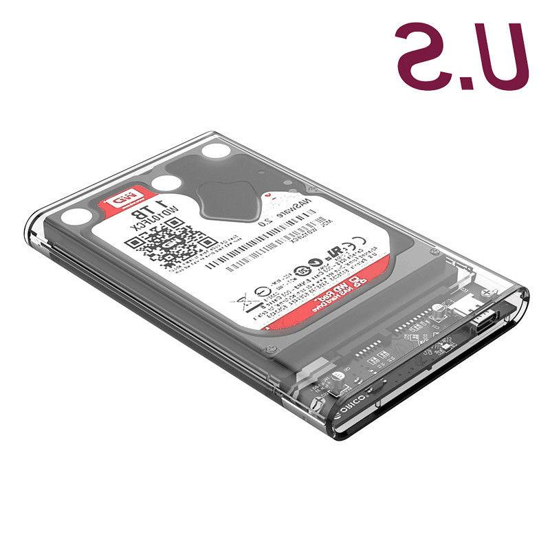 ORICO Type C USB 3.1 to SATA 3.0 External Hard Drive Enclosu