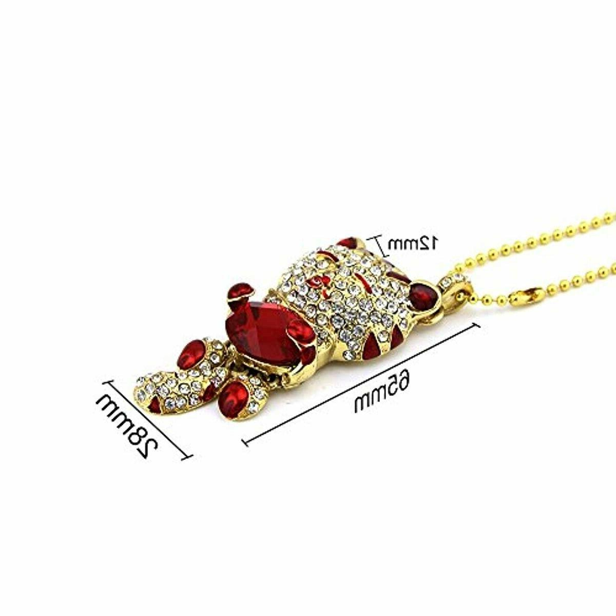 Crystal Necklace 32GB USB Drive Pen