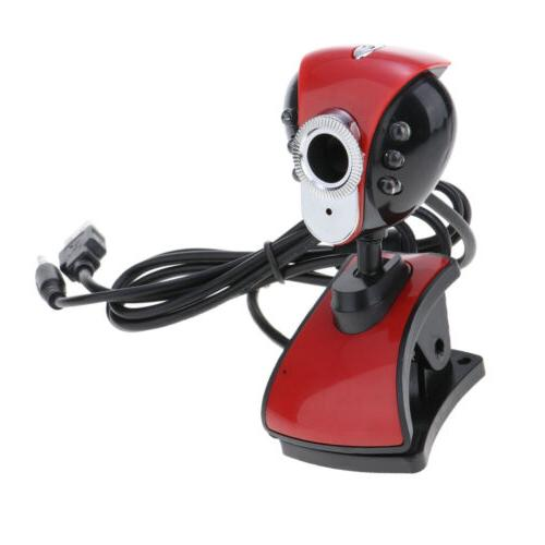 Drive Free USB Webcam HD Video Calling Camera with Mic for L