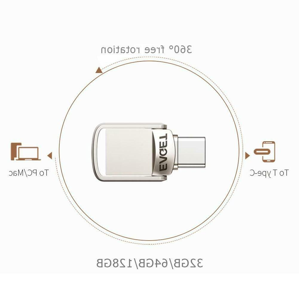 EAGET USB3.0 128GB Flash Metal Pen Drive