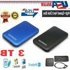 "External Backup Hard Drive Case 3TB USB 3.0 Enclosure 2.5"" P"