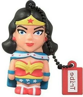 Tribe FD031503 DC WONDER WOMAN 16GB USB FLASH DRIVE