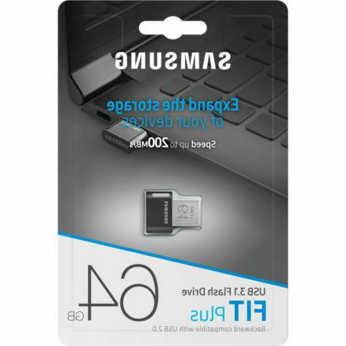 fit plus 64gb usb 3 1 200mb