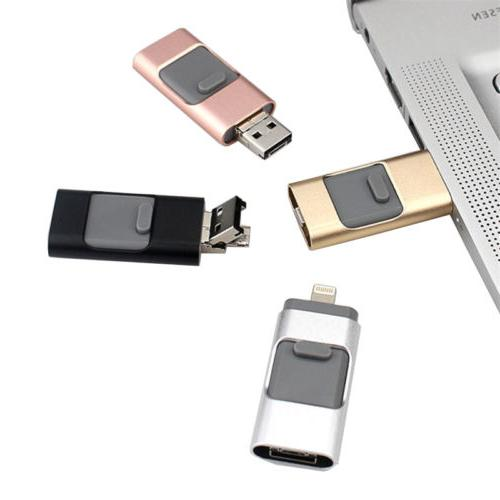 Flash Drive 512GB Memory Pendrive For iPhone iOS
