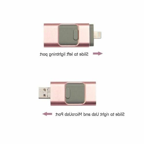 64/128/256/512GBFlash Drives Stick For iPad