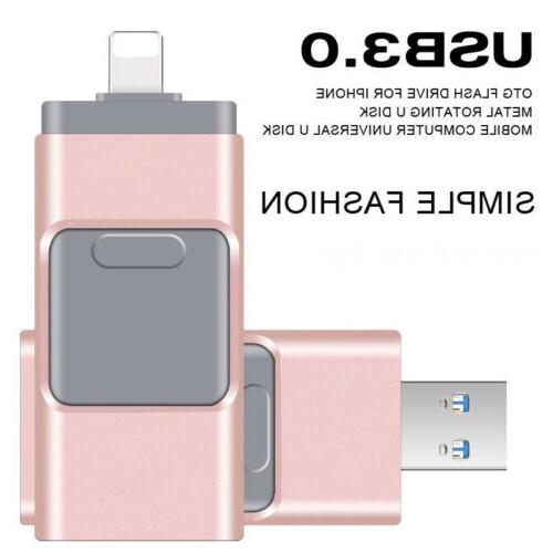 64/128/256/512GBFlash Drives Stick OTG iPad