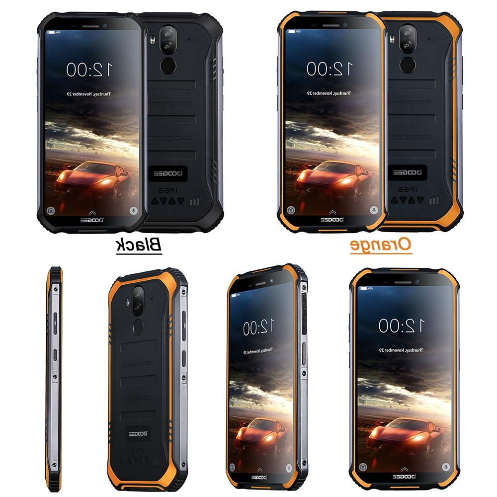 IP68 Rugged Phone Mobile 5.5inch Fingerprint 16GB Android 9.0