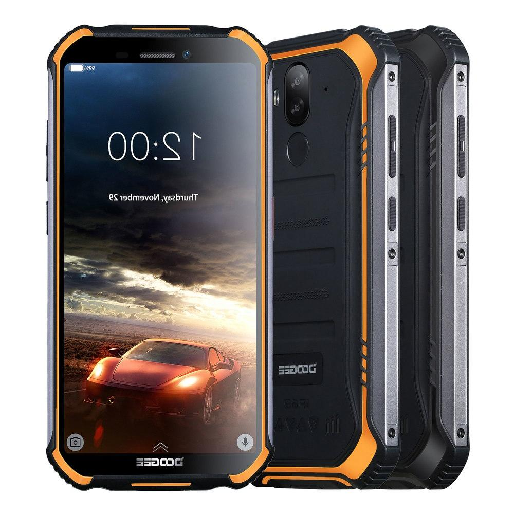 IP68 Lite Rugged Phone 5.5inch Fingerprint 16GB Android