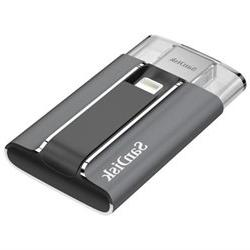 SanDisk iXpand Flash Drive for iPhone and iPad - 128 GB - US
