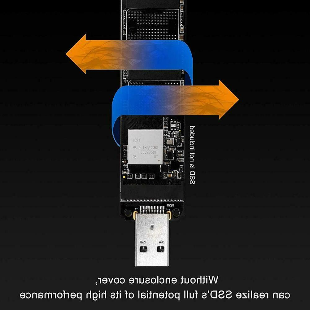 M.2 USB to USB-A Solid State Drive Internal
