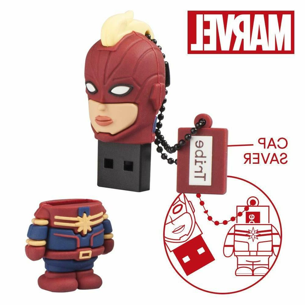 Marvel's Captain USB Stick 16GB by Tribe -NEW