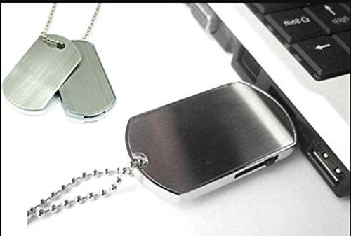 Aneew 16GB Pendrive Dog Necklace Thumb