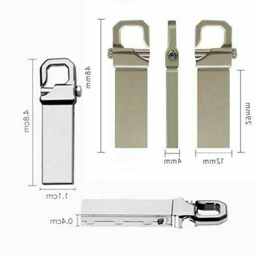 Metal USB Flash Pen Swivel Key