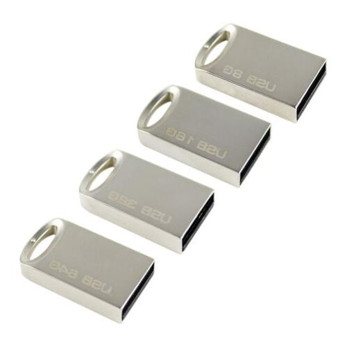 Flash Drive 32GB PC/Car USB Metal Mini Memory 64GB 8GB Pen D
