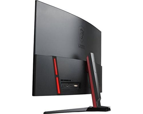"MSI Full HD Red LED Narrow x 1080 165Hz Refresh Rate FreeSync 32"" Curved Gaming"