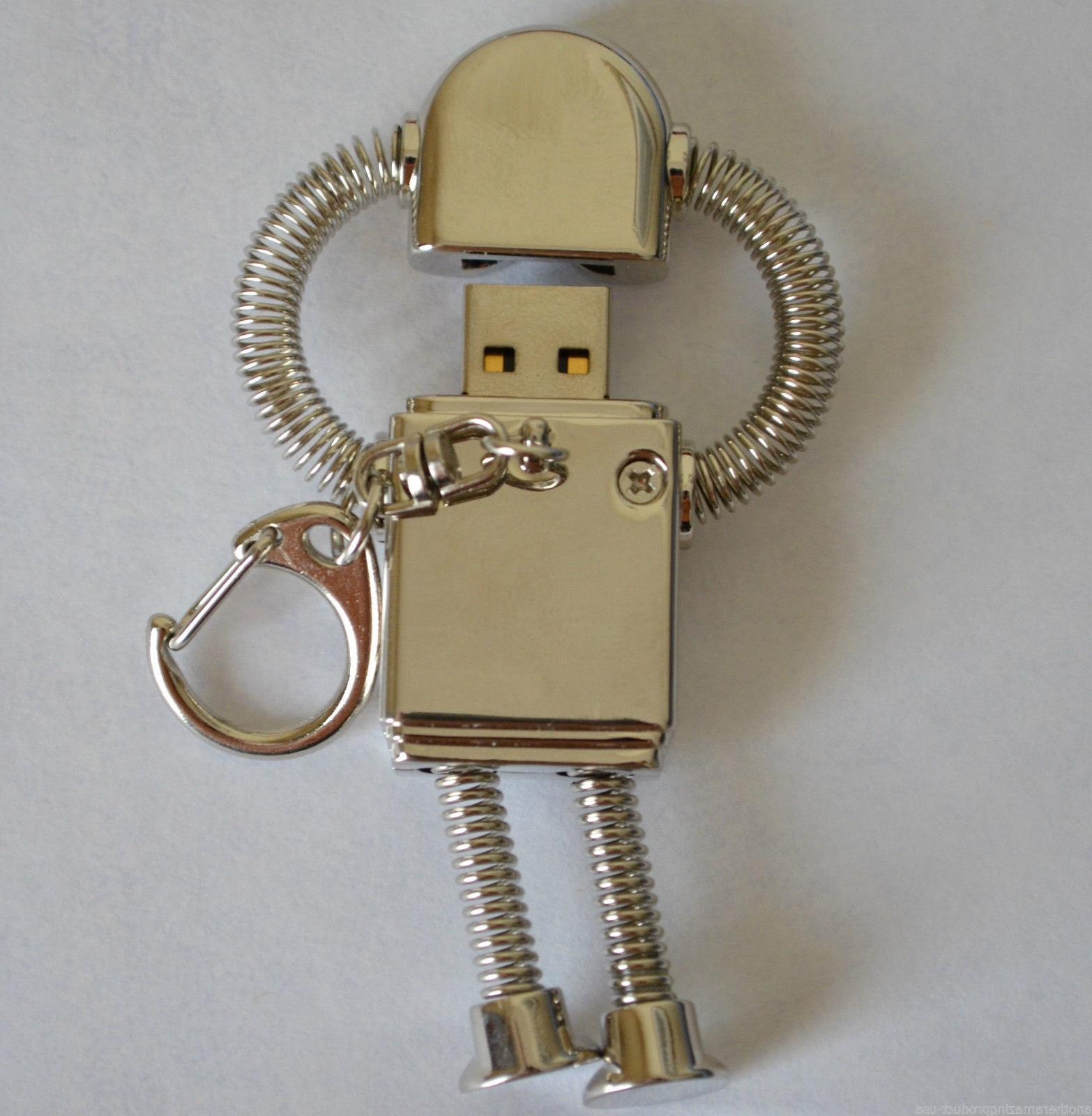 Robot thumb drive metal key good quality ship fast