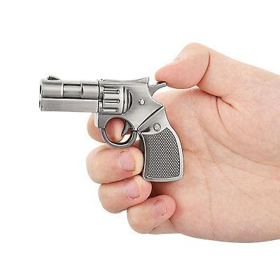 Silver Metal Gun Model 32GB USB Flash Drives Memory Stick Th