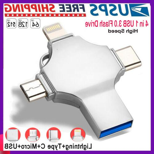 silver photo stick flash drive memory usb3