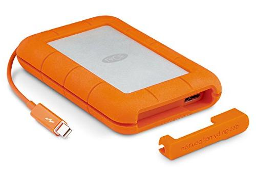 Lacie STEV2000400 2TB Rugged USB3 & Thunderbolt  new packagi