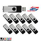 10pcs/lot Swivel 16GB USB 2.0 Flash Drive Folding Pen Drive