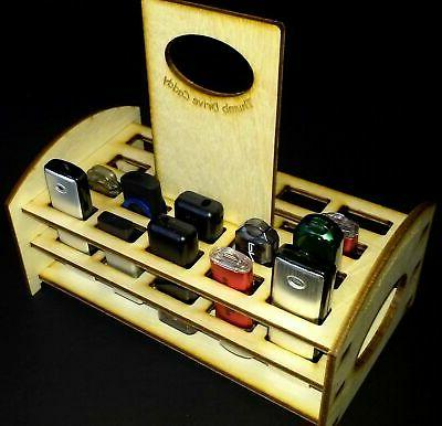 thumb or usb drive caddy holds 20
