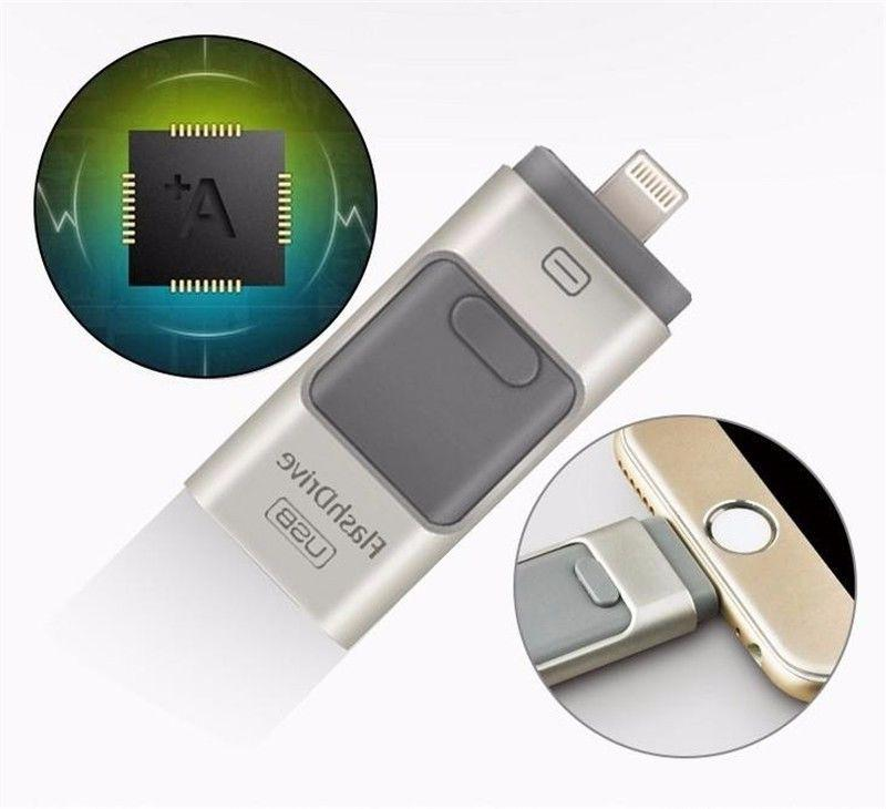 256GB i Flash USB Memory Stick Disk iPhone