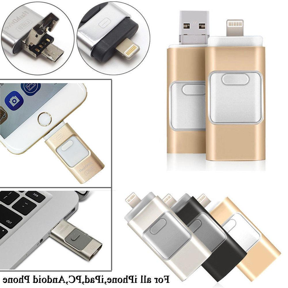 256GB Flash USB Disk iPhone PC