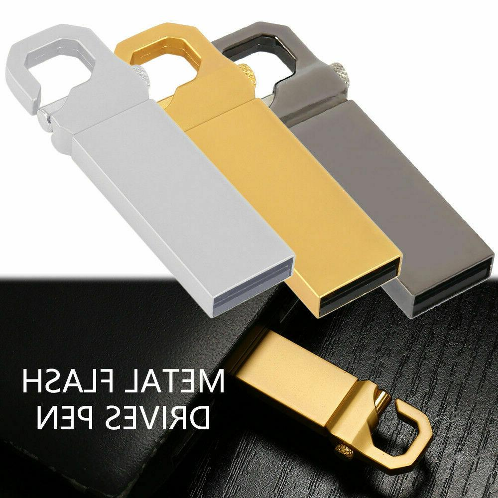 Metal USB Flash Drive Stick Pen U Disk Key Thumb